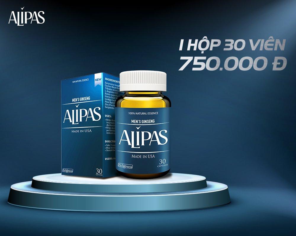 Hình ảnh Alipas mới có tốt không? Tác dụng của Alipas mới là gì?